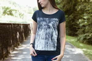 Forest #3 Frauen Shirt aus Modal / FAIR WEAR - ilovemixtapes