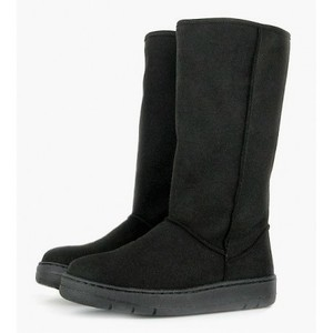 Highly Snug Boot Black - Vegetarian Shoes