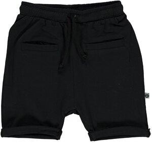 Baby Shorts schwarz GOTS - Smafolk