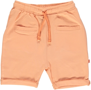 Baby Shorts orange GOTS - Smafolk