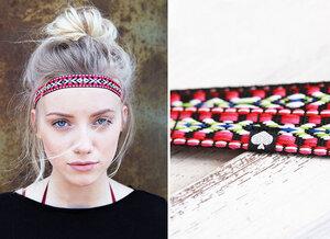 pikfine Haarband 'Tjak' // Ethno Muster #2 - pikfine