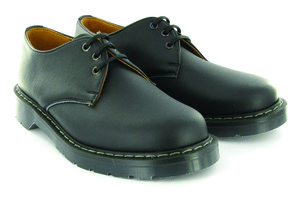 Airseal 3 Eye Shoe Black - Vegetarian Shoes