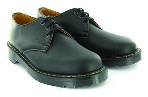 Airseal 3 Eye Shoe Black - Vegetarian Shoes