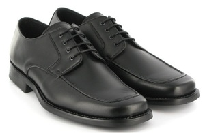 Suit Shoe (Black) - Vegetarian Shoes