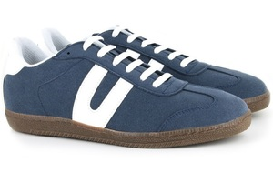 Cheatah Navy - Vegetarian Shoes