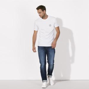 T-Shirt aus Bio-Baumwolle Es Calo White - Bohemian Heads