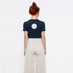 T-Shirt aus Bio-Baumwolle Illetas Navy - Bohemian Heads