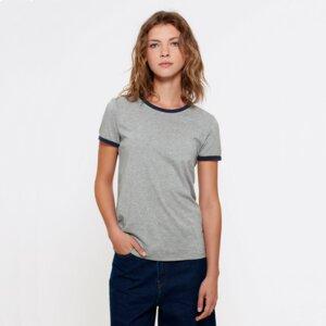 T-Shirt aus Bio-Baumwolle Espalmador Navy - Bohemian Heads