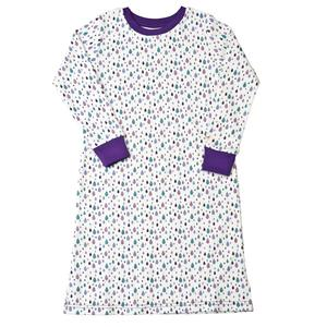 Nachthemd - Tröpfchen Muster - People Wear Organic