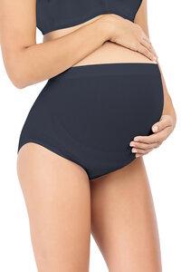 Schwangerschaftsslip hochsitzend schwarz - milker nursing