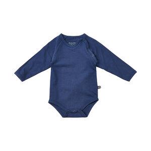 blauer Body aus Biobaumwolle - minymo