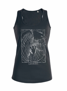 ilovemixtapes Eagle Organic & Fair Women Tank Top _graphit  - ilovemixtapes