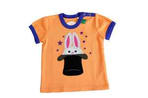 'Green Cotton' T-Shirt Hase - Green Cotton