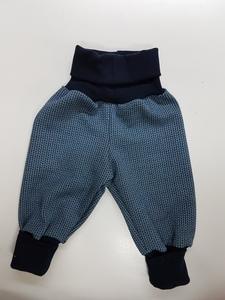 Babyhose Knit-Knit steingrau - Omilich