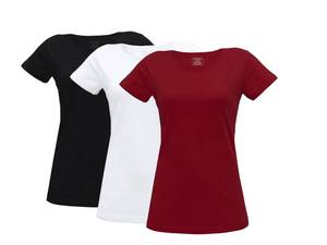 Damen T-Shirt 3er Pack - Fairtrade & GOTS zertifiziert - MELAWEAR