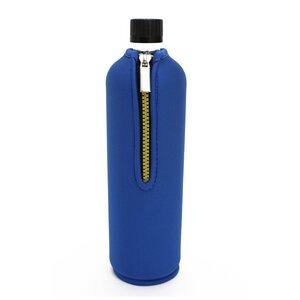 0,7 Liter Dora´s Glasflasche mit Neoprenanzug blau  - Dora