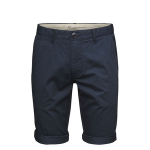 Stoffhose - Twisted Twill Shorts - Total Eclipse  - KnowledgeCotton Apparel