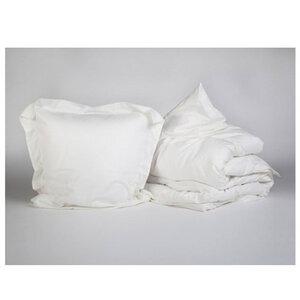 Bettwäscheset Baumwollsatin Warm White - Yumeko