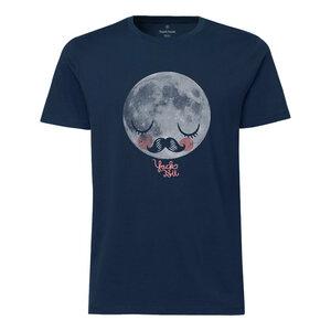 Yackfou Moon Herren T-Shirt navy Bio & Fair - Yackfou