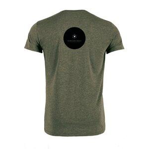 T-Shirt aus Bio-Baumwolle San Francisco Javier Khaki - Bohemian Heads