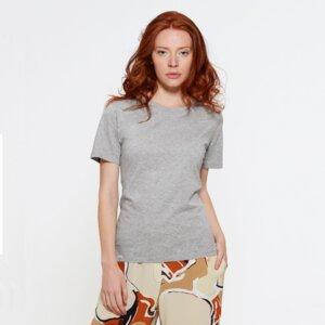 Ladies T-Shirt aus Bio-Baumwolle El Pilar Grey - Bohemian Heads