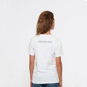Ladies T-Shirt aus Bio-Baumwolle 'El Pilar' White - Bohemian Heads