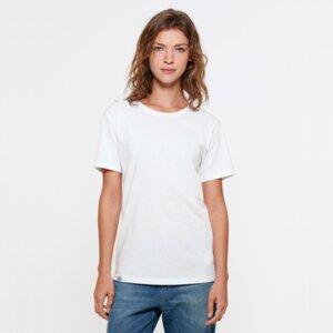 "Ladies T-Shirt aus Bio-Baumwolle ""El Pilar"" White - Bohemian Heads"