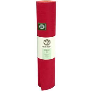 Lotus Design® Yogamatte NEU aus  ECO GRIP -rot-orange- Naturkautschuk; Größe: 183 x 61 cm recyclebar - Lotus Design®