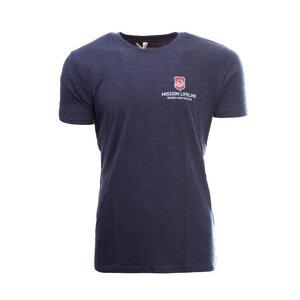 Seenotretter Herren Recycled Organic T-Shirt  - MISSION LIFELINE