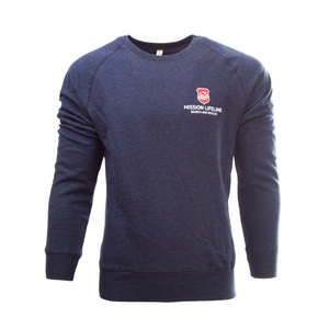 Seenotretter Unisex Recycled Organic Pullover  - MISSION LIFELINE