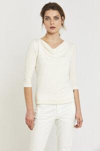 Hanfjerseyshirt Cream - Lanius