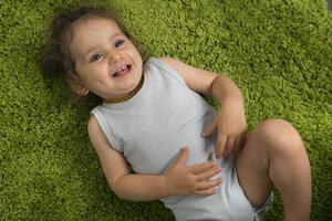 Babybody ohne Ärmel unisex aus reiner Biobaumwolle kbA - green astronaut