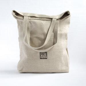 Shopper 100% Hanf, Natur, made in Berlin - ELZBAG