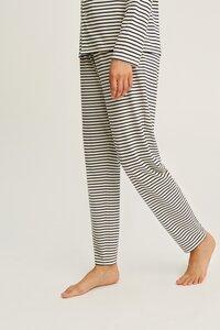 Stripe Pyjama Trousers Navy - People Tree