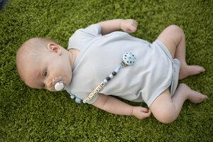 Baby Wickelbody kurzarm unisex aus reiner Biobaumwolle kbA - green astronaut