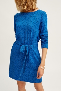 Cadence Dress Blue - People Tree