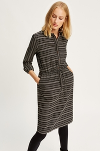 Calla Shirt Dress Black - People Tree