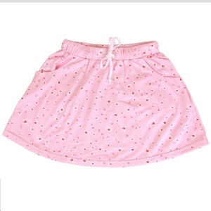 Baby u. Kinder Sommerrock rosa mit Muster kbA Bio Baumwolle iobio - iobio