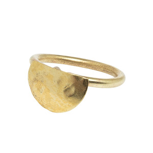 Semi Circle Ring Brass - People Tree