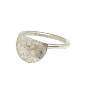 Semi Circle Ring Silver - People Tree