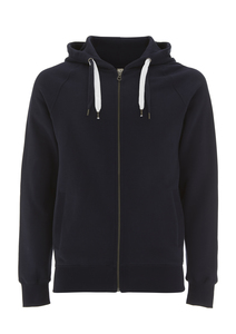 Zip-Up hoodie - GOTS - Navy - Continental Clothing