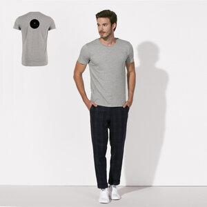 T-Shirt aus Bio-Baumwolle San Francisco Javier Grey - Bohemian Heads