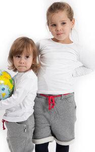Short für Mädchen aus reiner Bio Baumwolle kbA - green astronaut