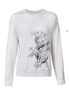 Herren Sweatshirt Follow 'Birds' - Human Family