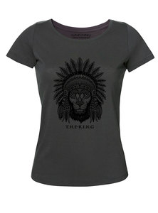 Damen Roundneck 'The King' (weitere Farben) - Human Family