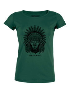 "Damen Roundneck ""The King"" (weitere Farben) - Human Family"