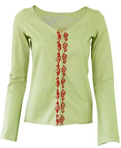 Supima Cotton Ladies Snap Up Jacket - Chakura by Ku Ambiance