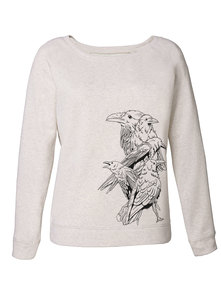 "Damen Sweatshirt ""Birds"" (weitere Farbe) - Human Family"