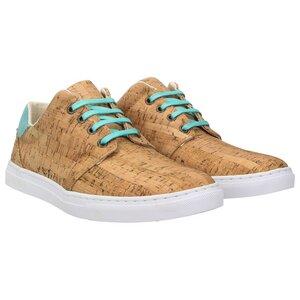 echt #402 Herren Korkschuhe vegane Sneaker Mint - ZWEIGUT®