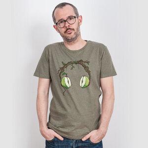 Robert Richter – Apple Beats - Mens Organic Cotton T-Shirt - Nikkifaktur